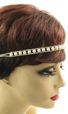 'JEN' URBAN GLAM STRETCH PEAL HEADBAND