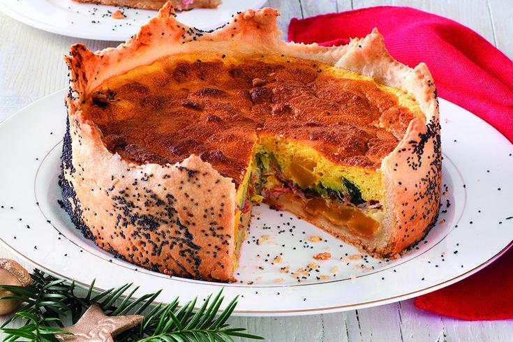 Ricetta Una regale torta di verdure - La Cucina Italiana: ricette, news, chef, storie in cucina