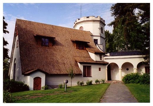Tarvaspää, the home and atelier of artist Akseli Gallen-Kallela (1865-1931), Espoo