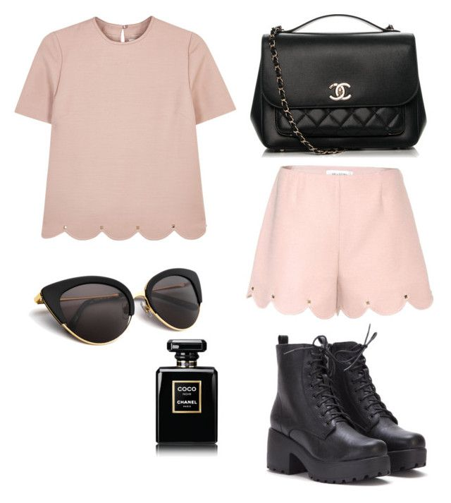 """Untitled #3"" by andree4048 on Polyvore featuring Valentino and Chanel"