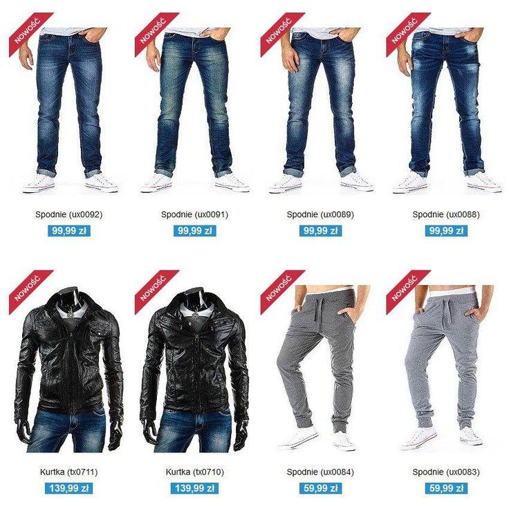 Zapraszamy do naszego działu Nowości: http://dstreet.pl/Nowosc-snewproducts-pol.html  #nowosci #dstreet #spodnie #kurtki