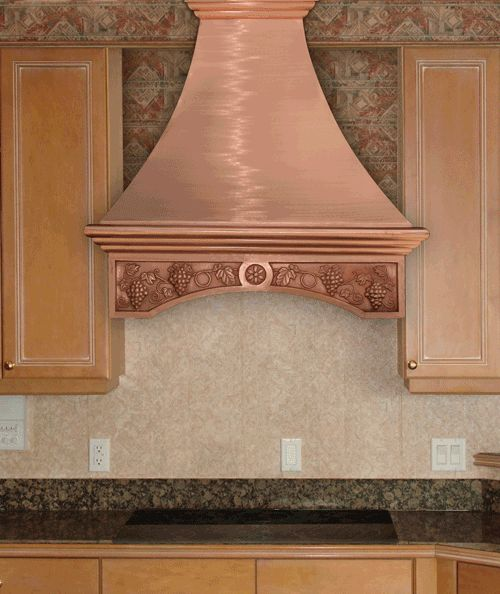74 Best Images About Copper Grapes Kitchens On Pinterest Storage Bins Copper And Pot Racks