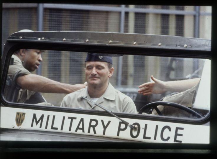 Adrian Cronauer (Robin Williams) ~ Good Morning, Vietnam (1987) ~ Movie Stills ~ #80smovies #comedies #moviestills #moviescenes