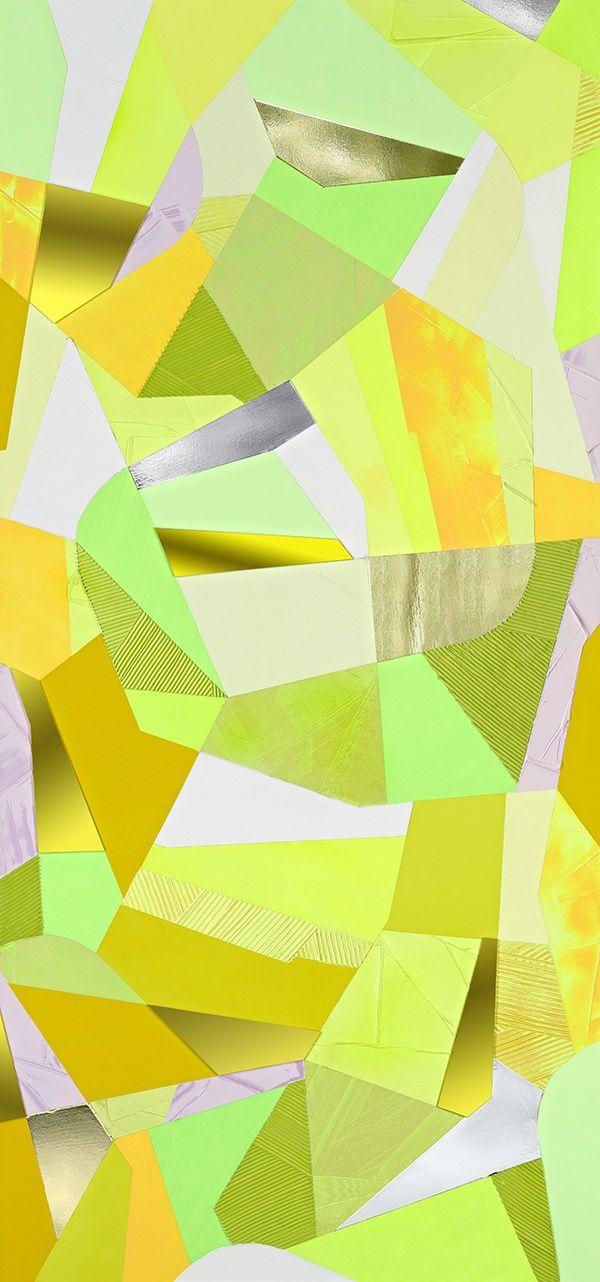 Anselm Reyle, ohne Titel / untitled (for Otto Freundlich), 2005