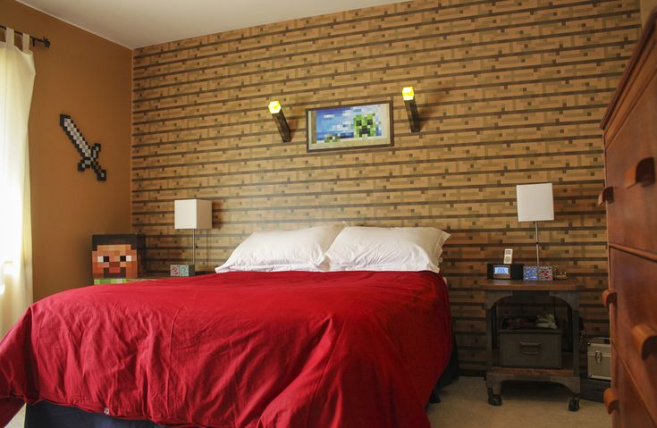16 best images about cade 39 s minecraft room on pinterest for Room decorating ideas minecraft