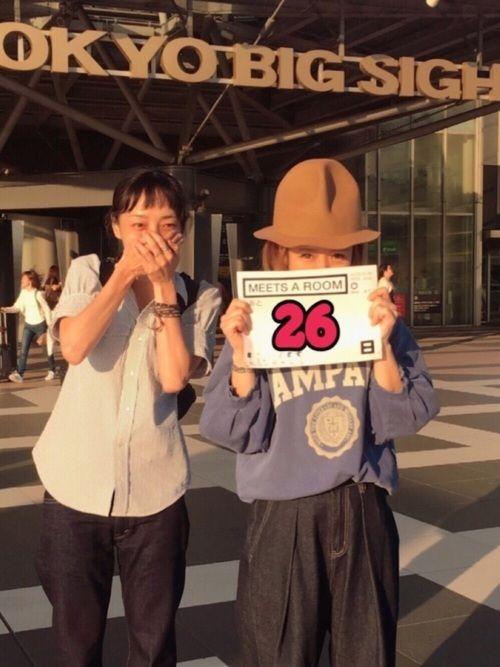 くま、じゅりぃが東京まで遊びに来てくれました! 飛行機で2時間くらいのところと 新幹線で2時間くらい