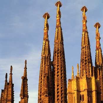 Sagrada Familia, Spain....