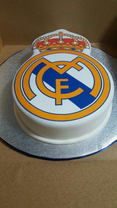 Real Madrid themed groom's cake
