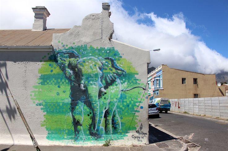 street art from Woodstock, Cape Town
