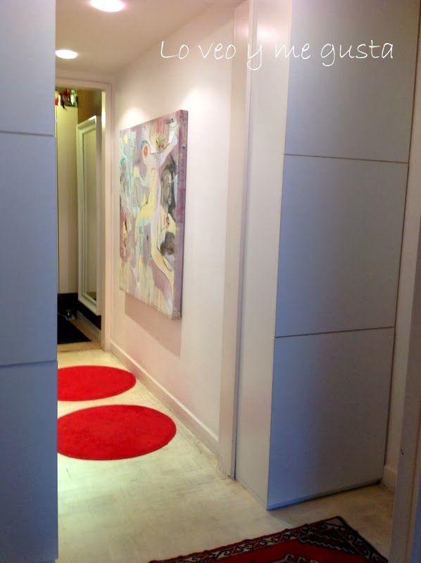 40 best images about pasillos on pinterest built in desk - Decorar un pasillo ...