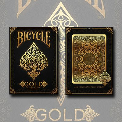Bicycle Gold Playing Cards Review 5 Stars with a Stone Status of Gem.  Full Review: http://magicreviewed.com/reviews/bicycle-gold-playing-cards-review/