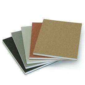Blanko Skizzenbuch mit Satogami Einband Erdtöne / Plain Notebook | Anthrazit / Anthracite | Artikelnummer: RSVP-S-anthrazit