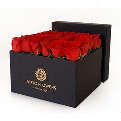 caja-rosas-rojas-negra-visto-flowers