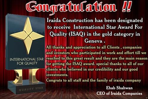 for more information please visit www.iraidaestateagency.com  www.oasismarina.net  www.iraidaconstruction.com