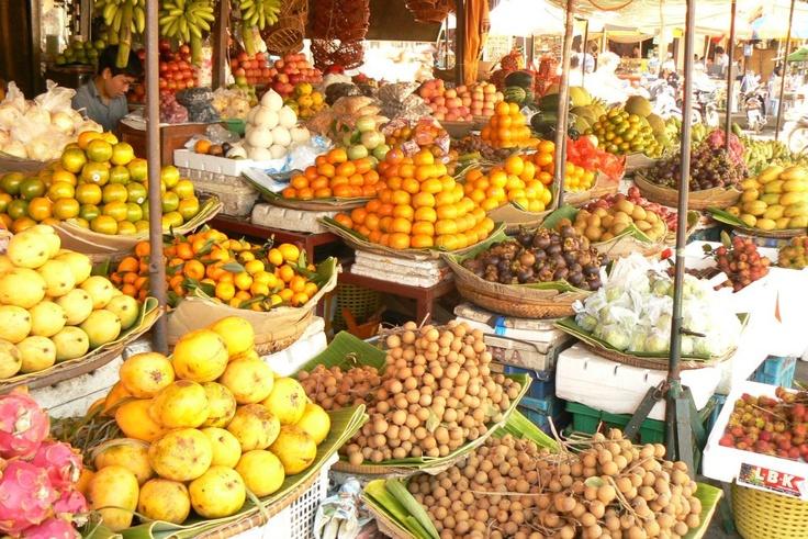 Cambodja market