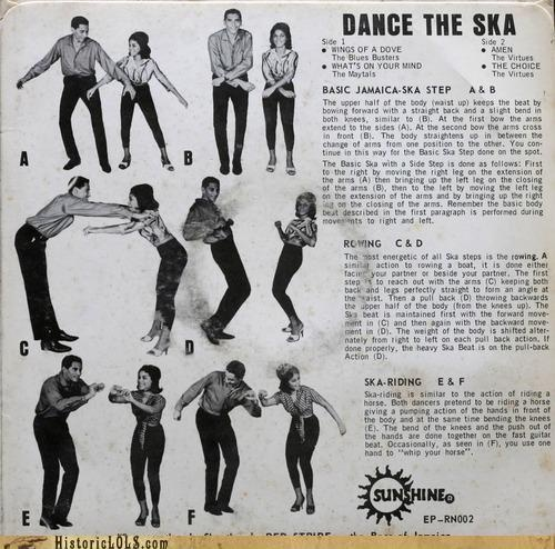 We do the ska <3 This is how I met my future husband.