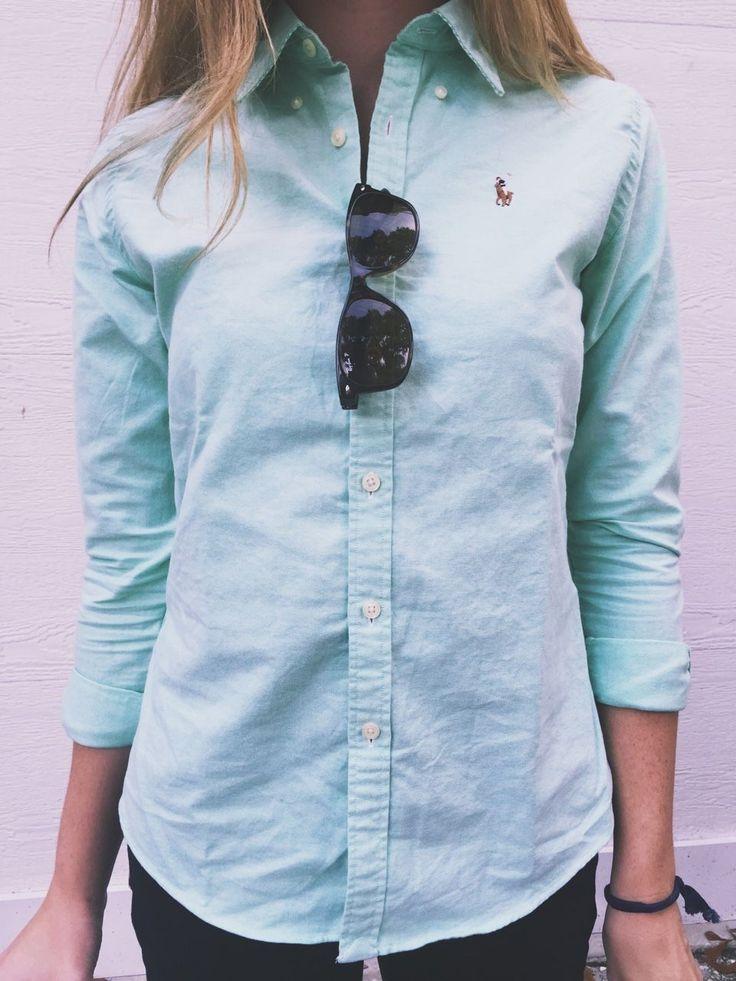 Ralph Lauren Oxford shirt #basic #essential #style