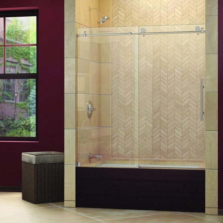 Sliding Tub Shower Doors
