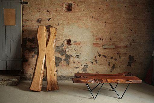Interior design recupero tavoli da fumo realizzati con for Tavoli di design in ferro