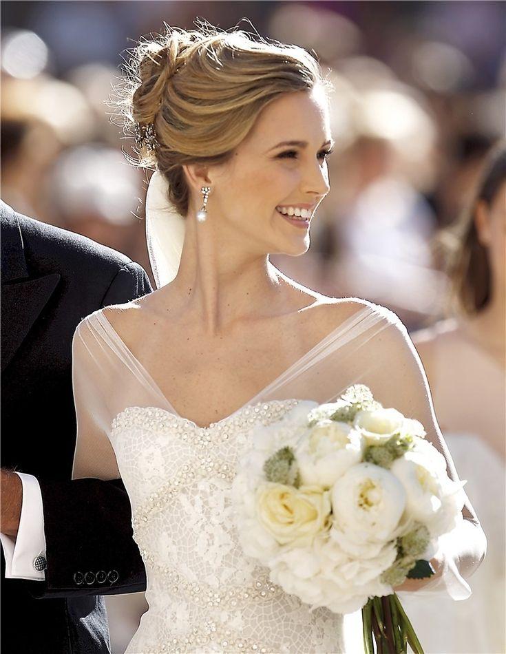 10 peinados de novia de famosas que querrás copiar el día de tu boda | Galería de fotos | Foto 5