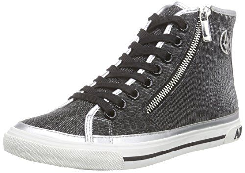 Armani Jeans C55B143 Damen Hohe Sneakers - http://on-line-kaufen.de/armani-jeans/armani-jeans-c55b143-damen-hohe-sneakers