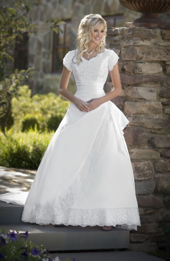 20 mejores imágenes de novia modesto en Pinterest | Vestidos de ...