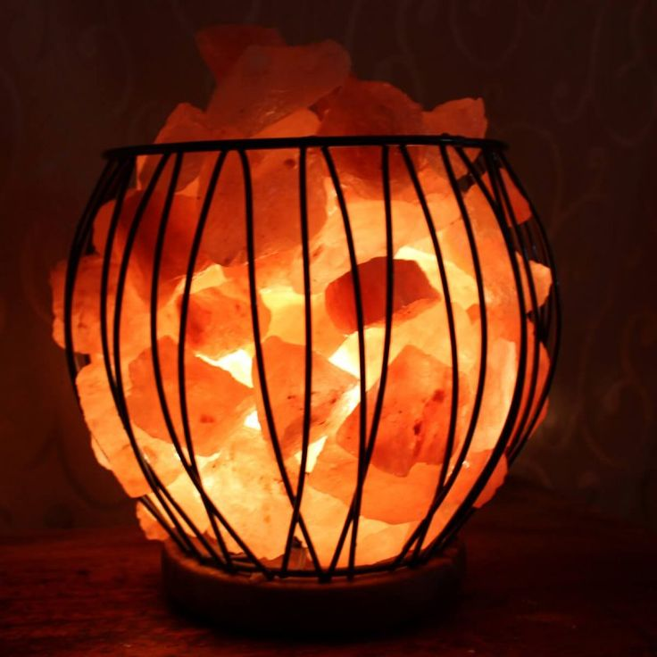 Medium Fire Cage with wooden base