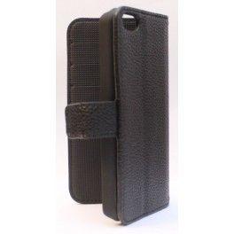 Apple iPhone 5c musta puhelinlompakko.