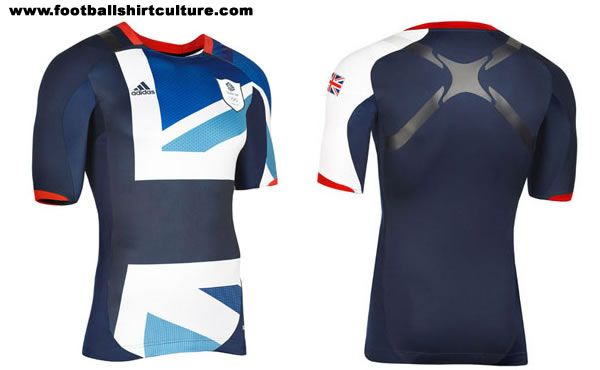 Team GB Olympics kit ... I have no idea how I feel about it