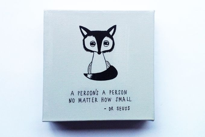 Fox Quote by Little Miss Linguist. love the fox and the seuss combo! via hellopretty.co.za
