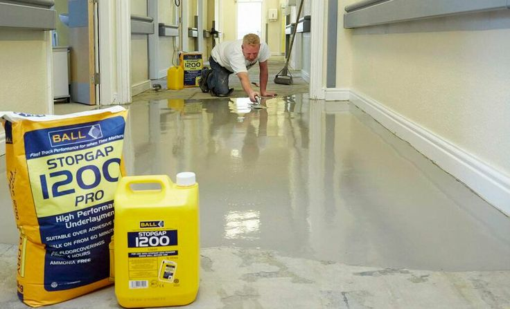 Stopgap 1200 was used by contractors at Longton Cottage Hospital for a professional floor finish.