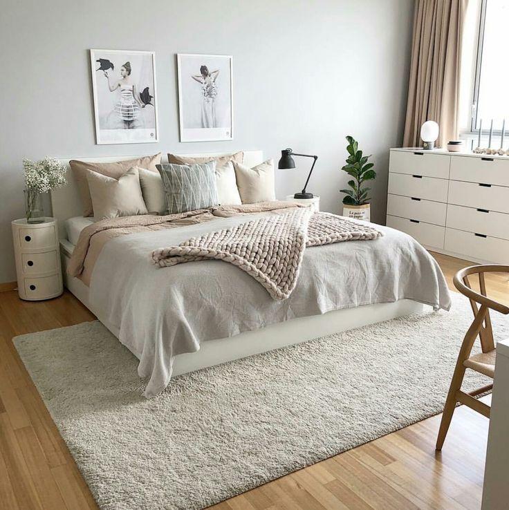 Zimmer - #tapis #Zimmer   Graue wand schlafzimmer, Zimmer ...
