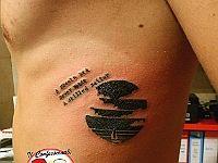 """Amore per la vela (tribale) con lettering carattere """"macchina da scrivere"""""""