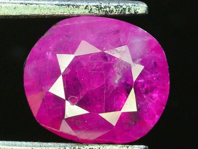 1.505  ct 100% Natural Ruby ~ Jagdalek Afghanistan pink gemstone, pinkruby , gemstone