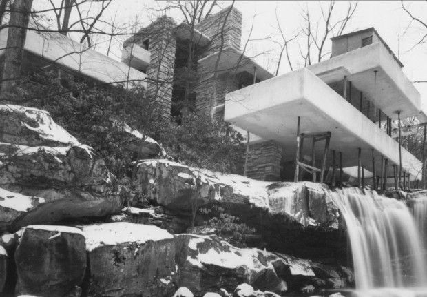 93 best images about flw fallingwater kaufman house on pinterest building falling waters. Black Bedroom Furniture Sets. Home Design Ideas