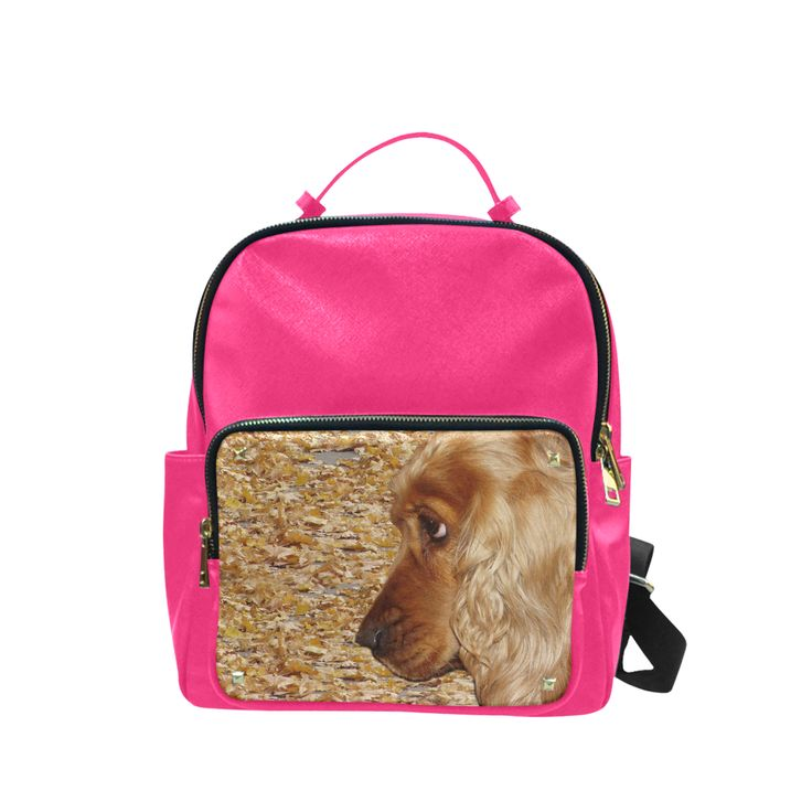 Dog Cocker Spaniel Campus backpack/Large (Model 1650)