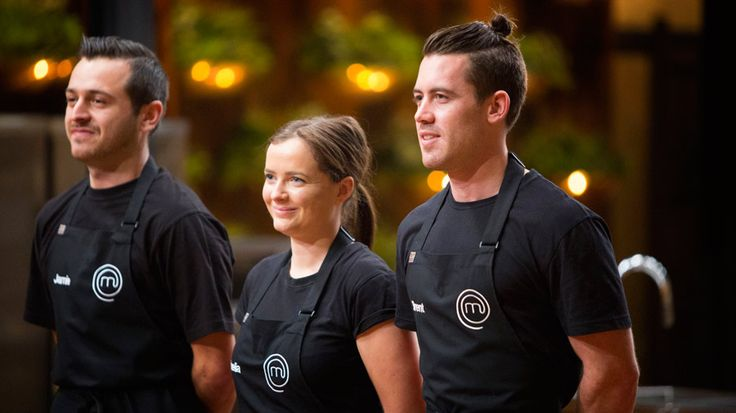 Jamie, Emelia and Brent line up to tackle Martin Benn's dish in order to stay in the competition