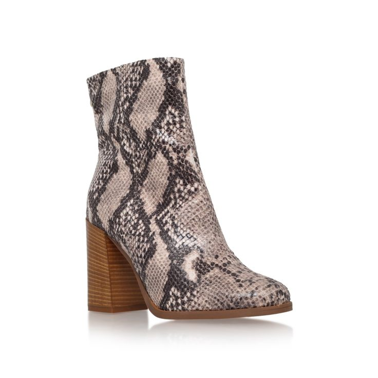 slither taupe high heel ankle boots from Carvela Kurt Geiger