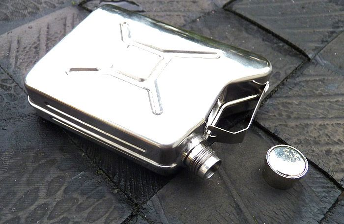 Fuel Can Hip Flask - Ideal Dad gift!