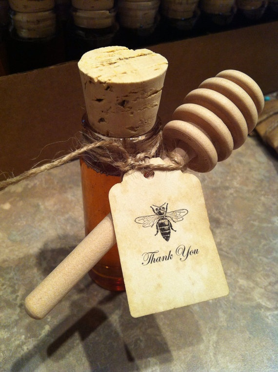 Personalized Wedding Favor Tags Meant To Bee Tags by BagOfTags, $40.00