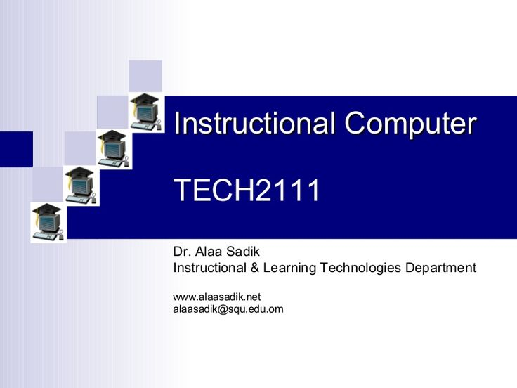 TYPES OF INSTRUCTIONAL SOFTWARE -presentation by Alaa Sadik via Slideshare
