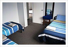 4th bedroom at the Lazaret Kangaroo Island