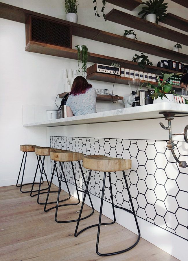 Best 25 honeycomb tile ideas on pinterest hexagon tiles for Tile bar top ideas
