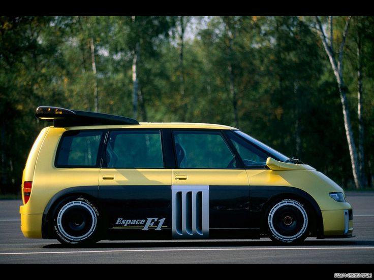 Renault Espace F1. NO, that car will never be fast