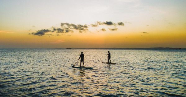 135 mile SUP race in Holland