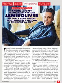 Entertaining Exclusive: Jamie Oliver from HELLO! Canada, November 6, 2017. Read it on the Texture app-unlimited access to 200+ top magazines.