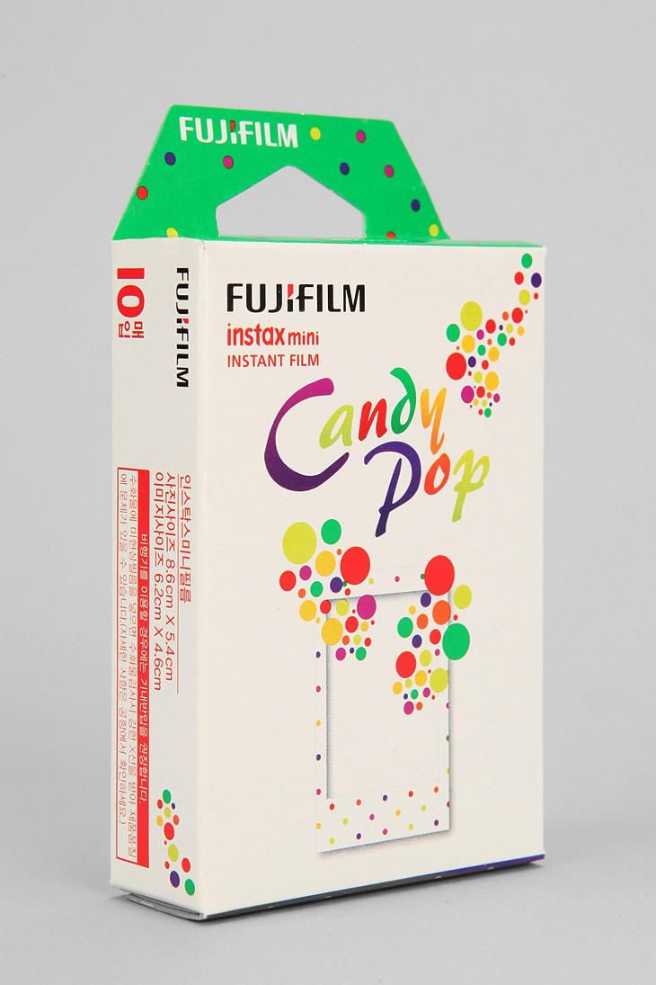 would not be complete without: Fujifilm INSTAX Mini Rainbow Film