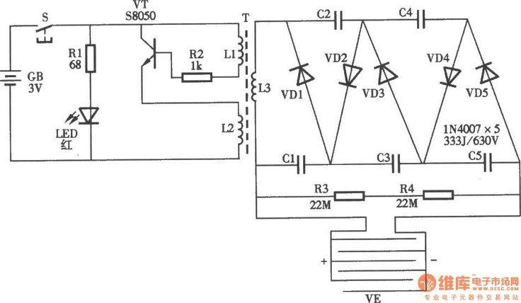 Circuito Zapper : Bug zapper circuit elektronika pinterest electrónica
