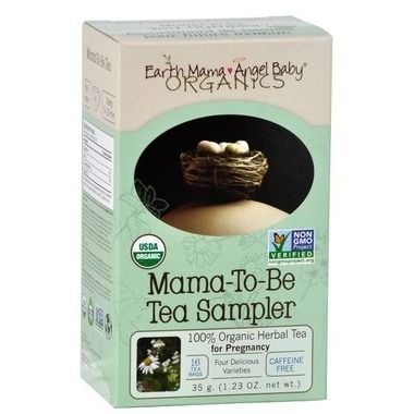 Earth Mama Angel Baby Mama-to-Be Tea Sampler, now at Well.ca!