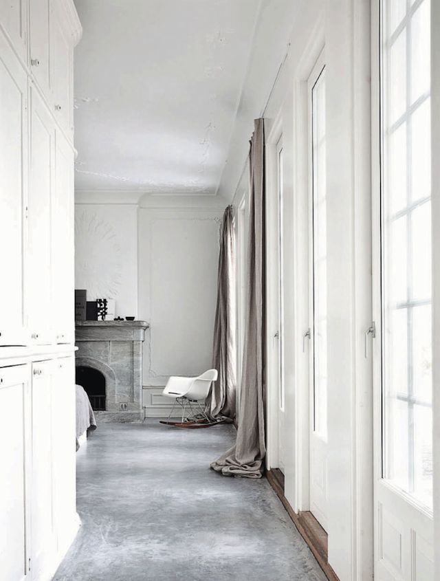 .i like the floors #concrete floor